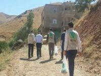 Umut Kervanı Bitlis'te muhtaçlara kurban eti dağıttı