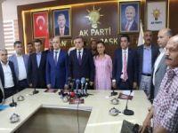 Şanlıurfa'da AK Parti yeni ilçe başkanları tanıtıldı