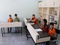 Görme engelli öğrencilerin okul heyecanı
