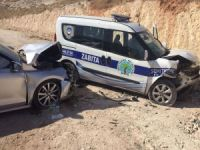 Gaziantep'te yaralanmalı kaza!