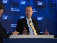 Erdoğan, İş Forumu'nda ABD'nin PKK'ye verdiği desteği gündeme getirdi