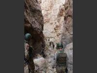 Van'da PKK sığınaklarına operasyon