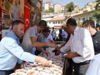 Bitlis'te 2 bin kişiye ahi lokması ikram edildi