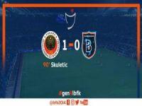 Başakşehir'e Ankara'da mağlup.1-0