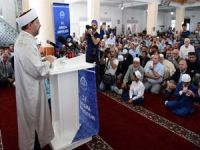 Erbaş: Çağın devasa sorunlarını Kur'an'ın çağlar üstü mesajıyla çözebiliriz