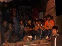 Ağrı'da 93 yabancı göçmen yakalandı