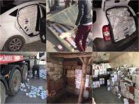 Van'da kaçak sigara operasyonu bilançosu açıklandı!