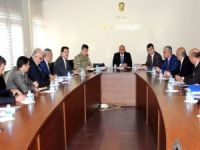 Van'da İl Spor Güvenlik Kurulu toplantısı yapıldı