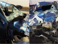 Nusaybin'de trafik kazası: 2 kişi yaralı