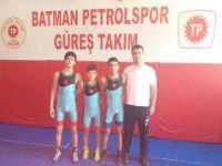 Batman'ın gururu güreşçiler artık olimpiyat merkezinde