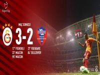 Galatasaray son anda: 3-2