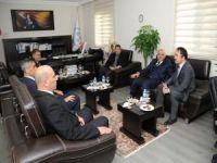 Vali Zorluoğlu'ndan DSİ'ye ziyaret