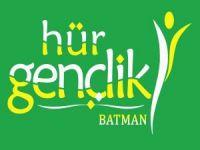 """HÜDA PAR Batman Gençlik Kolları'ndan """"6-8 Ekim"""" basın açıklaması"""