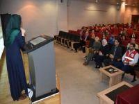 Öğretmenlere göz tarama uygulaması semineri verildi