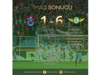 Trabzon'da tarihi hezimet! 6-1