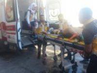 Panelvanın çarptığı çocuk ağır yaralandı