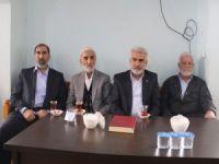 Yapıcıoğlu, Ergani'de taziye ziyaretlerinde bulundu
