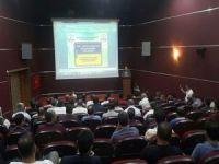 Öğrenci servis şoförlerine eğitim semineri verildi