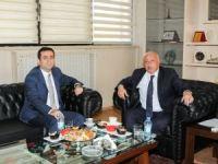 Güler'den Rektör Durmuş'a veda ziyareti