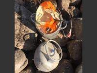Tunceli-Elazığ Karayolu'nda tespit edilen EYP imha edildi