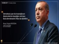 Erdoğan: Ben Bu Batıdan Şüphe Duyarım!