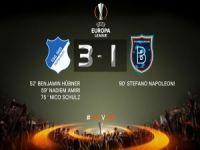 Başakşehir Avrupa'da tuş oldu: 3-1