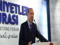 Erdoğan: Dünyayı insani çizgide tutabilecek  yegane güç İslam Medeniyetidir!