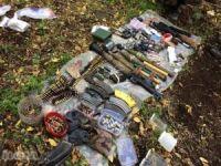 Erzincan'da silah ve mühimmat bulundu