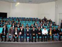 Otobüs şoförlerine eğitim toplantısı