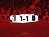 Beşiktaş, Başakşehir'i geçemedi: 1-1