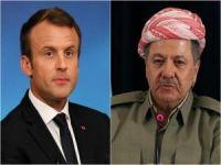 Macron'dan Barzani açıklaması