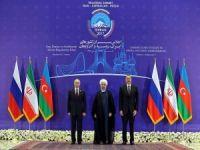 Üç Lider Tahran'da bir araya geldi!