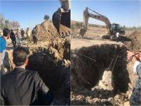 Nusaybin'de bulunan tünel Suriye'ye uzanıyor