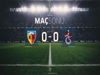 Kayseri'de gol sesi çıkmadı: 0-0