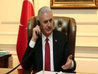 Başbakan Yıldırım'dan İran'a başsağlığı telefonu