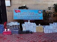Siirt'te 7 bin 400 paket gümrük kaçağı sigara ele geçirildi