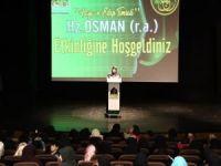 Diyarbakır'da kadınlara yönelik Hz. Osman programı!