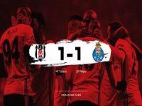 Beşiktaş Şampiyonlar Liginde 2.Turda