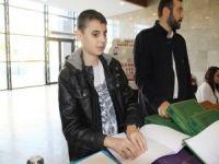 Engellilere dini eğitim stantta anlatıldı