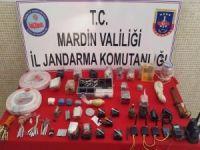 Mardin'de el yapımı patlayıcı ele geçirildi