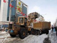 Van Büyükşehir karla mücadele çalışmalarına başladı