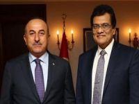 Çavuşoğlu Arakan Rohingya Birliği Genel Direktörünü kabul etti