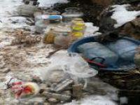 Hizan'da PKK'ye ait sığınaklarda mühimmat ele geçirildi
