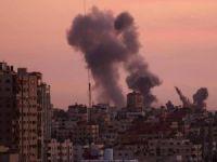 Siyonistler Gazze'ye saldırdı: 4 yaralı
