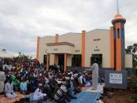 Ruanda'da Erbakan Camii ibadete açıldı
