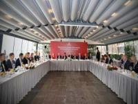 Başkan Uysal, Başkonsoloslarla bir araya geldi