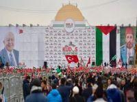 """Kudüs İslam'ındır"" mitingi başladı"