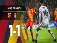 Beşiktaş'a Kayseri çelmesi: 1-1