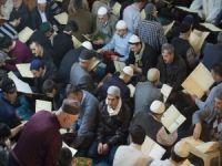 """Erzurum'da yarım asırdır devam eden """"bin bir hatim"""" geleneği"""