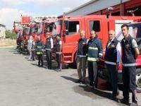 Van Büyükşehir İtfaiyesi 5 bin 617 olaya müdahale etti